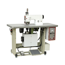 Factory price industrial high efficiency ultrasonic leather fabric lace sewing machine