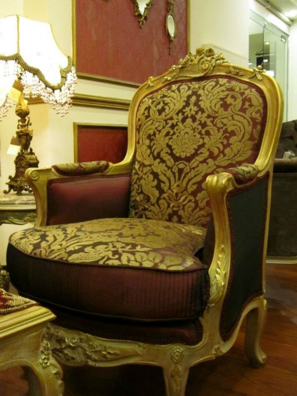 Baroque Wooden Sofa