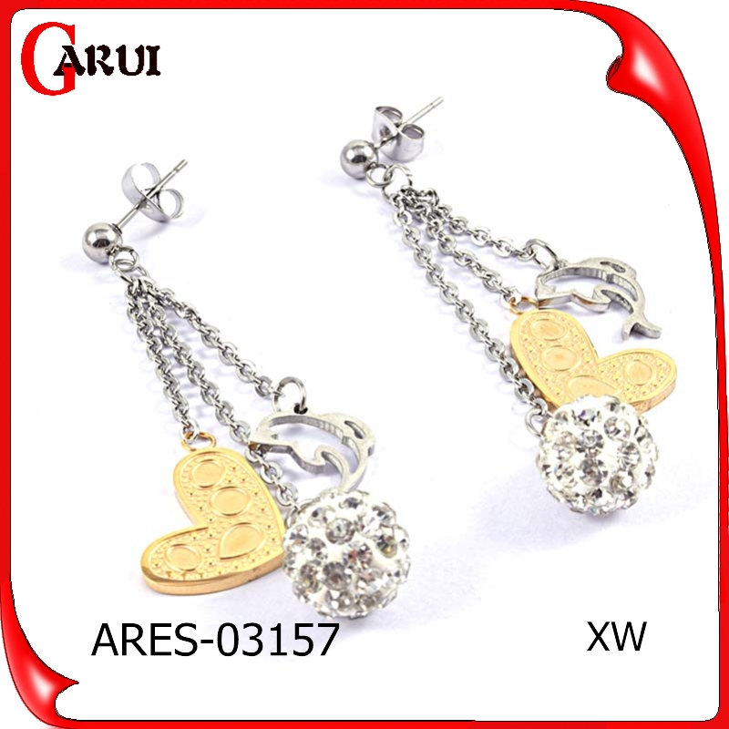 Fashion Jewelry 2015 High quality small gold earrings earring fashion earring