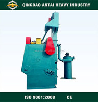 Q32 series tumble belt shot blasting equipment for surface cleaning equipment
