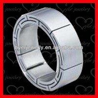 spikes titanium rings with popular styles and good quality