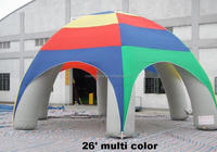 Hot sell factory direct cheap high quality 190T oxford cloth led inflatable tent/inflatable-lawn-tent
