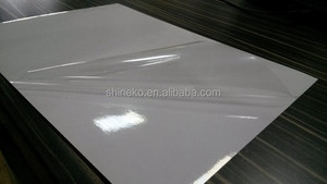 25micron Polyester transparent adhesive backed plastic sheet for laser printer