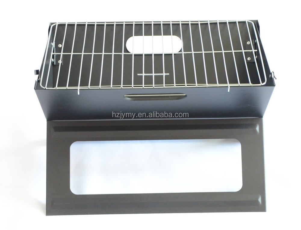 Stainless Steel X style charcoal bbq grill