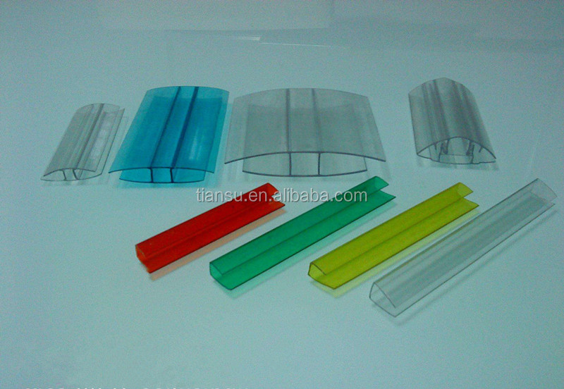 Polycarbonate pc sheet accessories fit for 4mm-16mm thickness