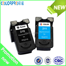 ink cartridges compatible for canon 210/211