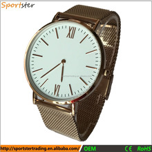 Japan Movt Quartz Watch Stainless Steel Back, Watches Men, Brand Your Own Watches