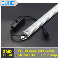 high quality dimmable constant current led rigid strip 12-30V dimmable light strip bar for car/boat/cabinet application