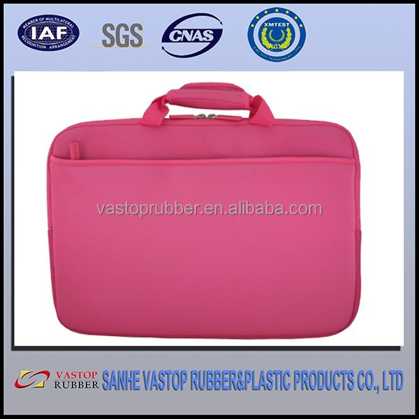17 inch pink aoking laptop cases neoprene laptop sleeve