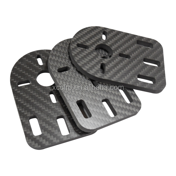 High Performance Durable Carbon Fiber Parts For DIY Quadcopter Frame