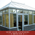 Skylight prefabricated aluminium frame glass Sun house