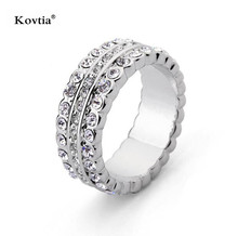 Diamonds Rings Price In Pakistan White Gold Jewelry Three Circles Finger Ring