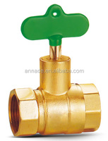 Control Structure and Manual Power brass valve