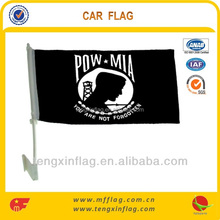 plastic car window mirror cover flag poles