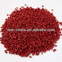 glow in dark abs granules red masterbatch for plastic shopping bags and film