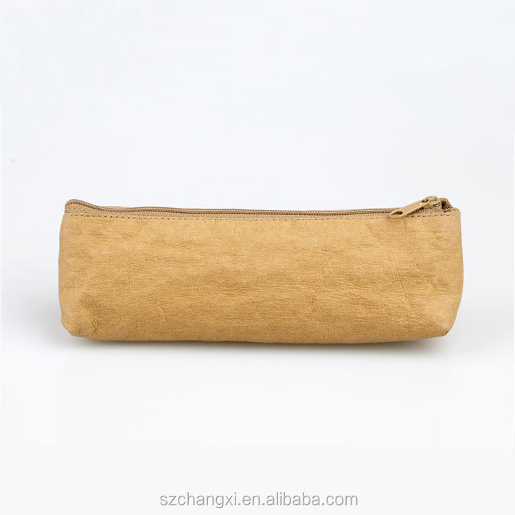Kraft Paper Cosmetic Bag/ Makeup Bags/Travel Brush Pouch Bag