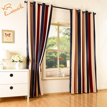 Factory ready made red curtain hotel blackout curtain and curtain fabric