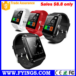 cheap wholesale mobile phones bluetooth u8 smart gps u8 smartwatch phone
