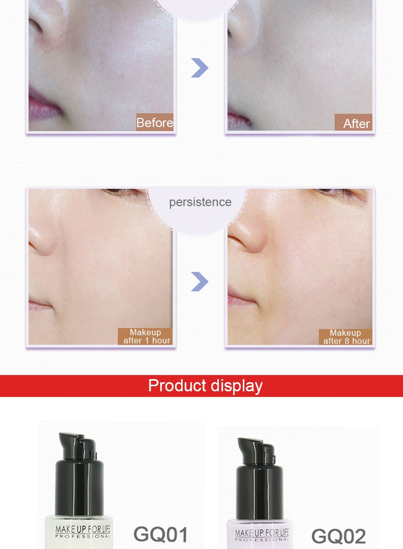 High Quality Cosmetics - Private Label FACE PRIMER Makeup Base