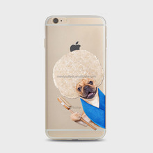 New design silicone tpu cover case for iphone 4 4s 5 5s 6s 6plus Cute animal puppy cast designs