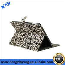 Leopard Print Leather Case For iPad 2 3 4 With Sleeping Mode With Wallet and Stand Function.