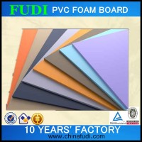 2016 colored new soundproof pu foam board, pvc hard foam sheets