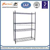 Hotter Shelving cheap and fine factory direct price new design adjustable 4 -tier chrome corner shower shelves
