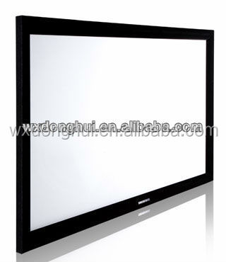 picture frame projection screen