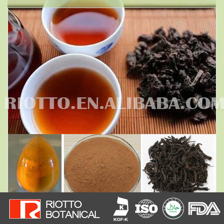 Ture Manufacturer black tea extract price