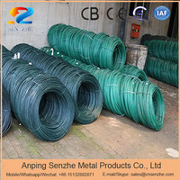 facotry direct sale low price corrosion resistance non rust colorful plastic coated twist wire