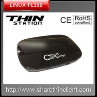 2013 Newest Green linux Thin client/dual core 1gz CPU,512RAM.Support server video play FL300