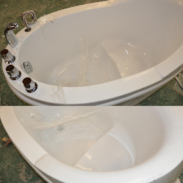 Hs b523 52 pollice vasca da bagno seduta vasca da bagno piccola vasca da bagno con sedile vasca - Seduta vasca da bagno ...