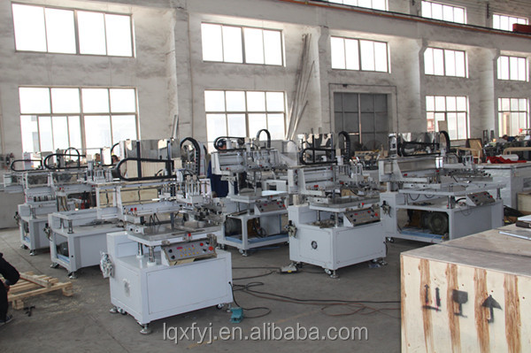 Vertical flat vacuum silk screen printing machine for sale