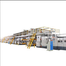 Corrugated board production line / automatic cardboard packaging machine