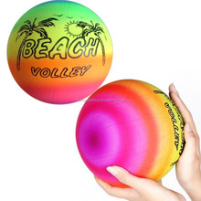 22cm rainbow inflatable beach ball inflatable balloons toys for kids