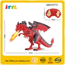 new arrival remote control dinosaur toys with sound and light emulational kids dinosaur