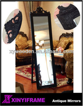 High Quality Antique Large Framed Wall Mounted Dressing Mirrors