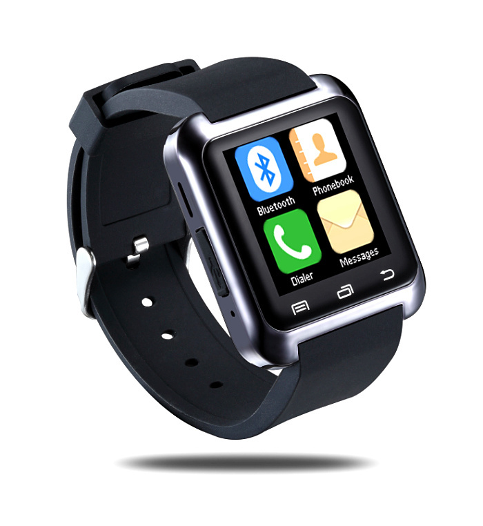 Bluetooth android u8 smart watch 2015 compatible for iPhone for android phone