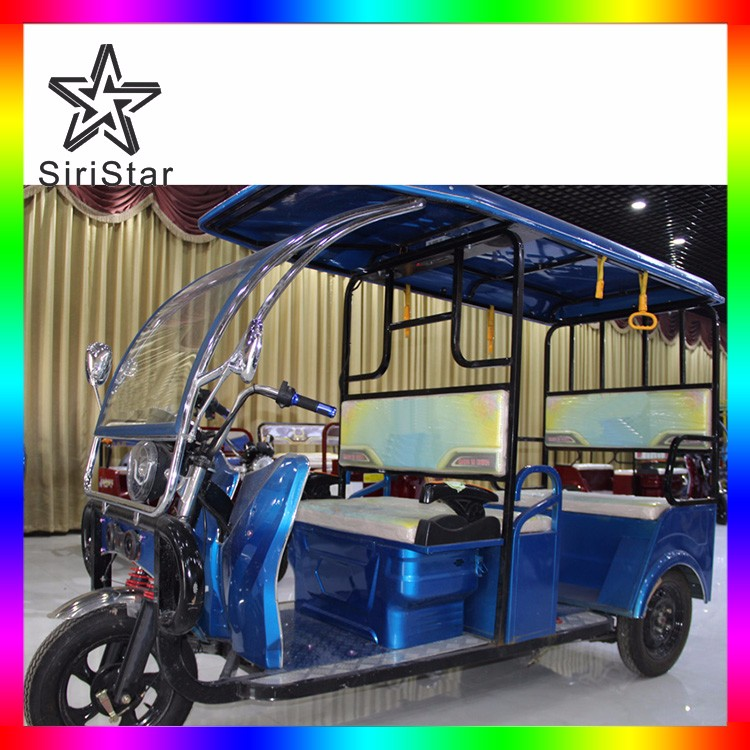 New tricycle gas cng auto rickshaw price india 6 passenger electric car tuk tuk Venus-SRAKN1