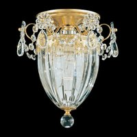 Traditional crystal ceiling lamp