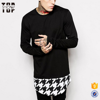 Custom Garment Houndstooth Long Sleeve Super