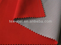 knitted fabric + TPU + mesh
