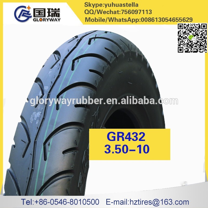 motorcycle parts tire of China 3.50-10