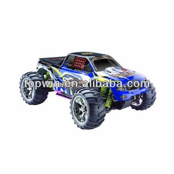 RC hobby 1/10 scale nitro car rc model 4WD off-ooad truck