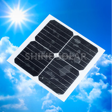 small monocrystalline silicon export solar energy panels 12w with high quality