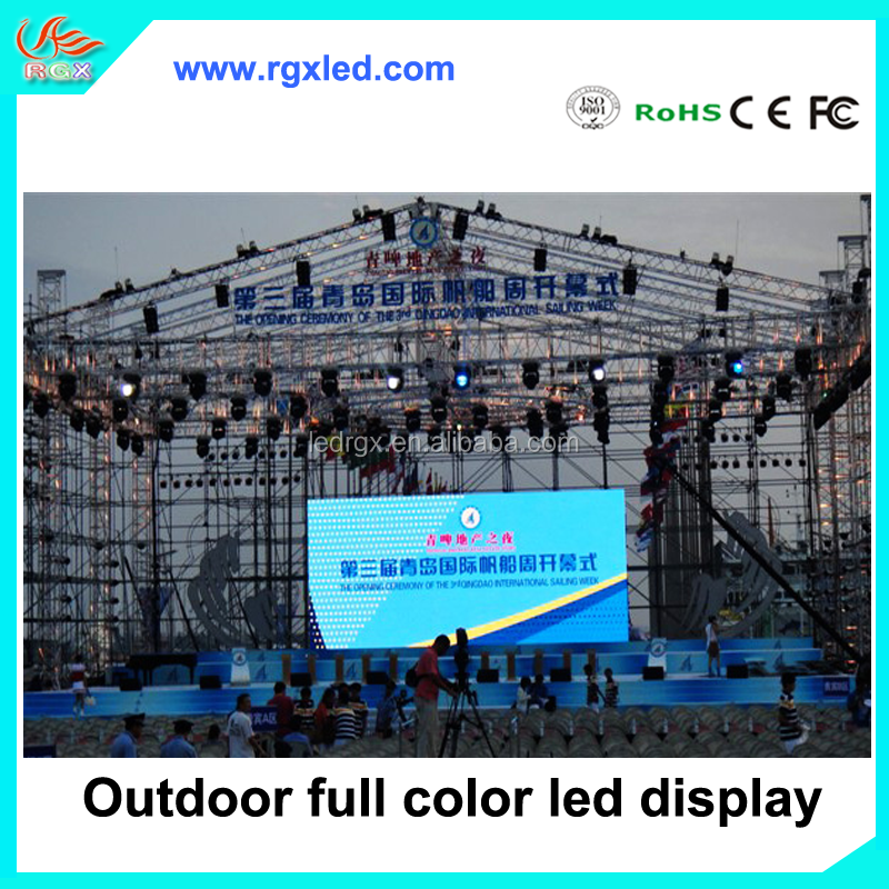Best Sale Pitch 4.81mm outdoor 3x video Full Color LED Displays P4.81 For Advertising led display