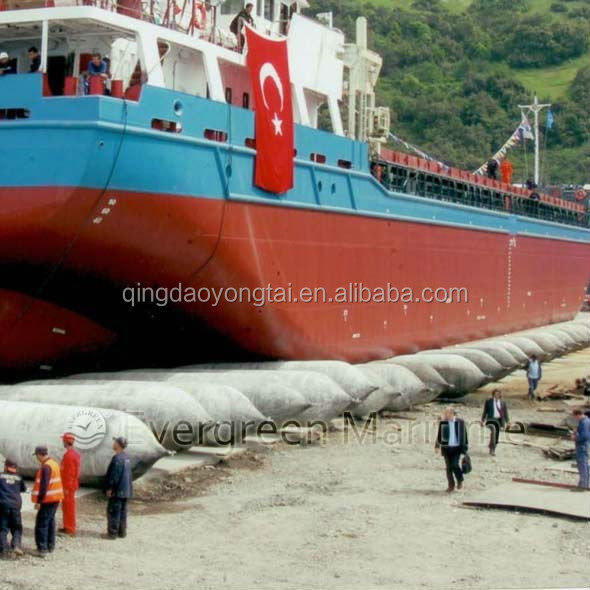 Passenger ship/boat/vessel use marine airbag made in china for landing or launching