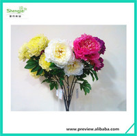 Wholesale High Quality Lily Artificial Flower peony