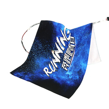 Sublimation druck Starry sky strand handtuch custom travel sport handtuch
