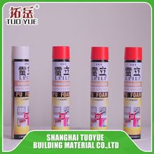 Spray Aerosol Canned Pu Foam Sealant Wholesale (For Winter)